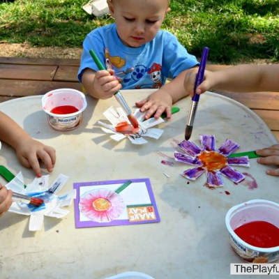 Smelly Flower Puppet with Mother Goose Time