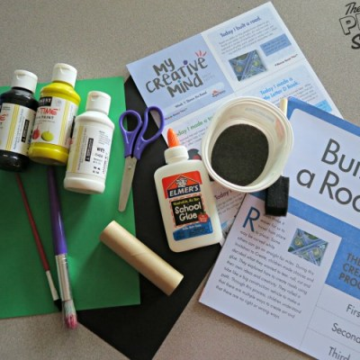 Two Road Building Activities with Mother Goose Time