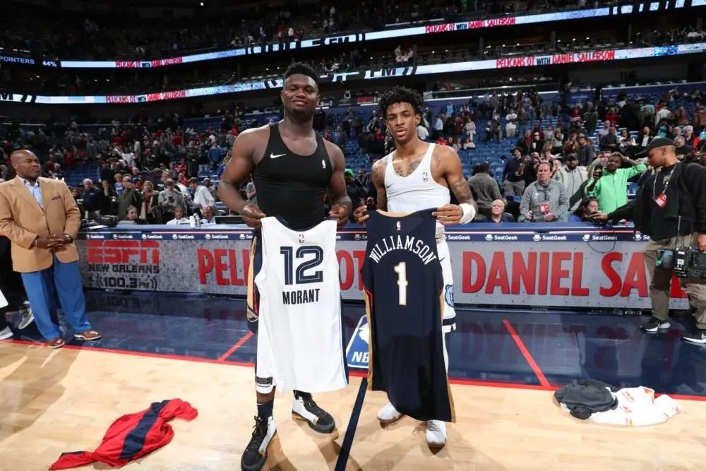 Zion leva a melhor sobre Morant e Pelicans vencem Grizzlies