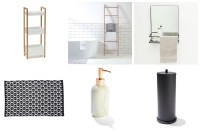 Cheap and Chic Bathroom Accessories and Storage from Kmart ...