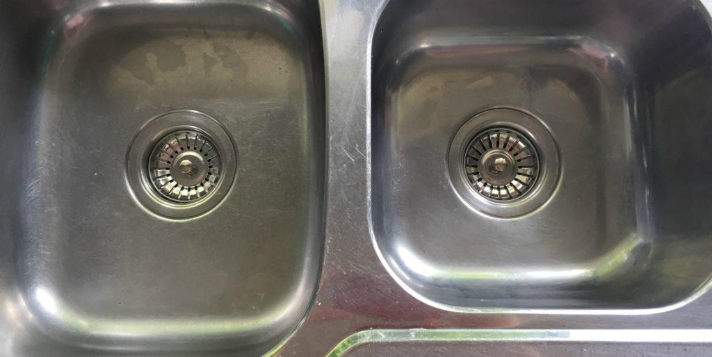 leaking kitchen sink basket strainer plug