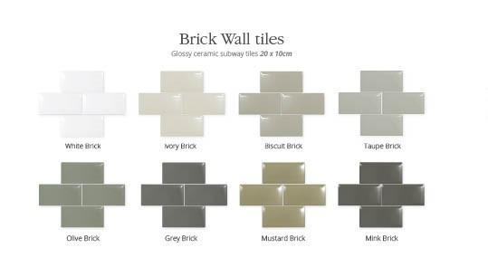 utopia brick wall tiles olive