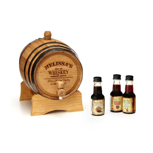 Personalized Whiskey Barrel The Plunge