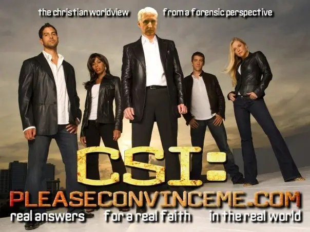 Defending the faith CSI style