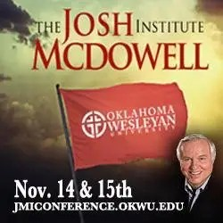 OKWU to launch Josh McDowell Institute