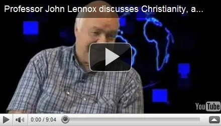 Professor John Lennox discusses Christianity, atheism and science