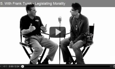 The One Minute Apologist #25: Frank Turek – Legislating Morality
