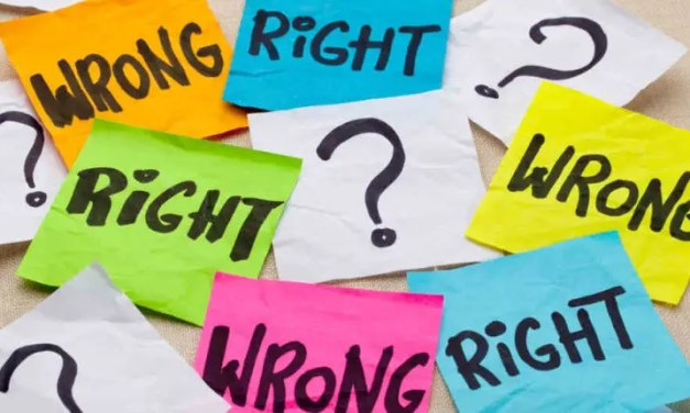 Are Right and Wrong Actually Right and Wrong?