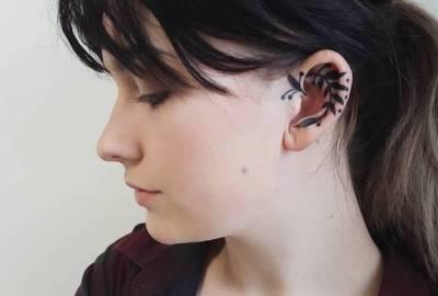 20 de idei de tatuaje pentru ureche (imagini)