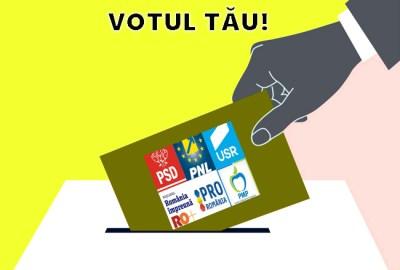 Se apropie alegerile: 50% prezența la vot…