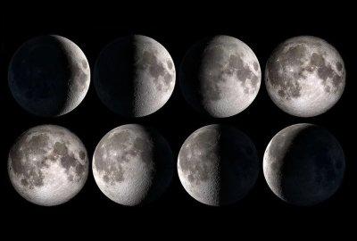 Care sunt Fazele Lunii 2021