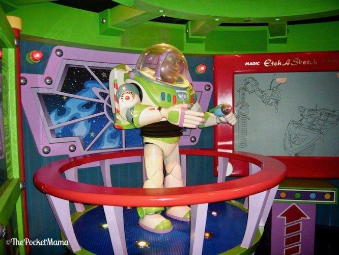 Buzz Lightyear a Disneyland Paris