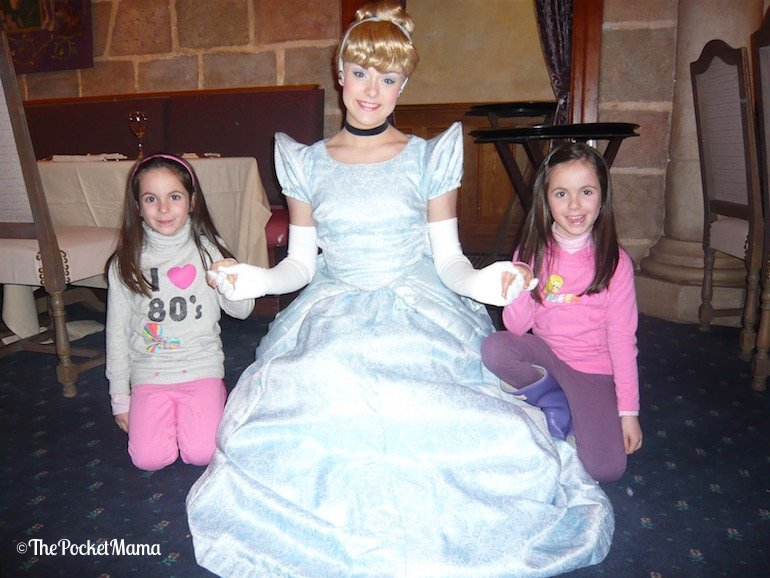 cena con le principesse a Disneyland Paris - cenerentola