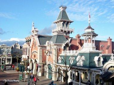 edificio di Main Street a Disneyland Paris