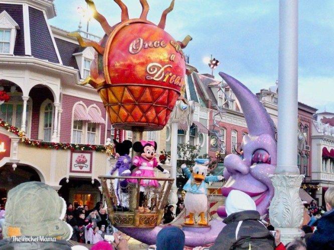 parata once upon a dream a Disneyland Paris