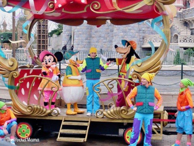 spettacolo Dance Express a Disneyland Paris