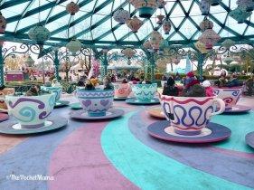 tazze del Cappellaio Matto a Disneyland Paris