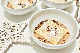 millefoglie integrale con crema di mascapone al cacao