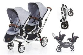 zoom abc design passeggino gemellare