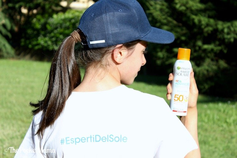 Garnier Ambre Solaire kids spray anti sabbia