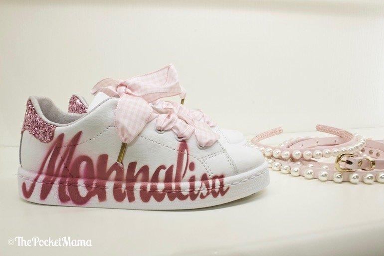 sneaker Monnalisa primavera estate 2018