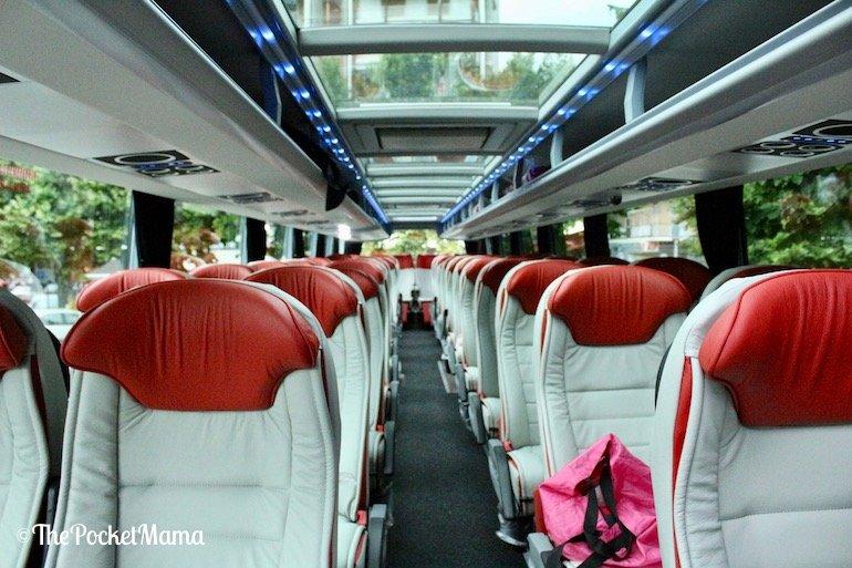 sedili Bus Platinum Chiesa Viaggi