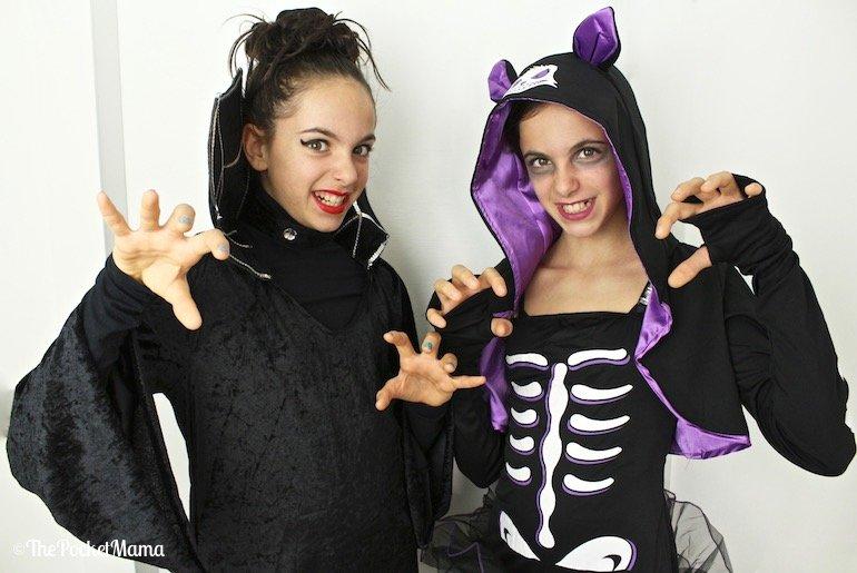 costumi di halloween per gemelli