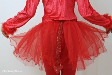dettaglio costume di Halloween Devil Girl