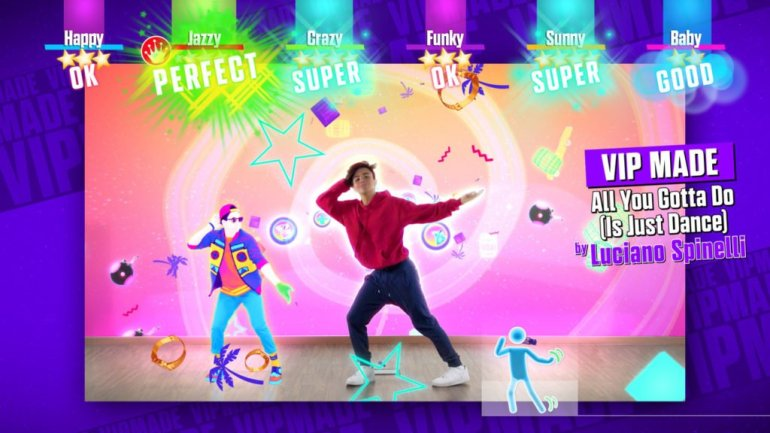 JUST DANCE 2018 COREOGRAFIA ALL YOU GOTTA DO LUCIANO SPINELLI