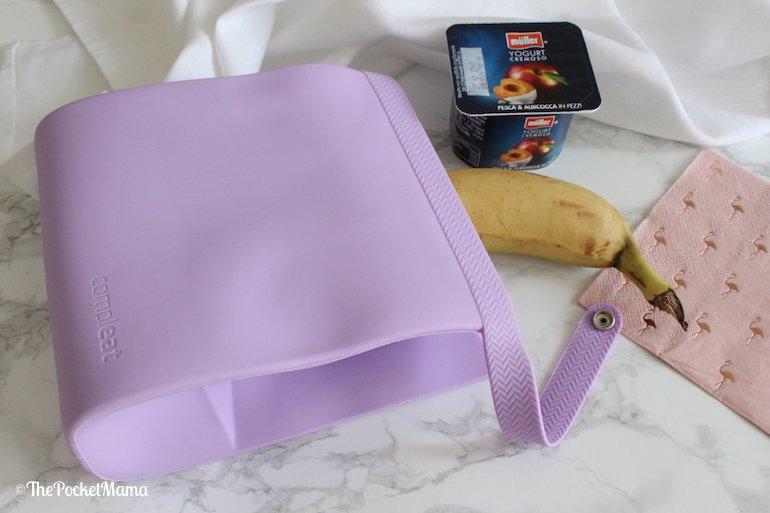 compleat lunchbox in silicone su troppotogo