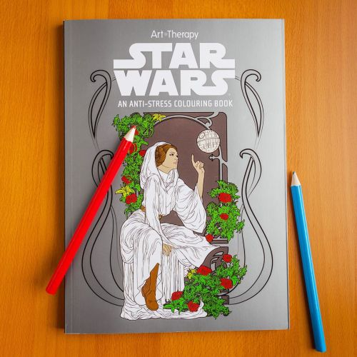star wars art therapy colouring book 1