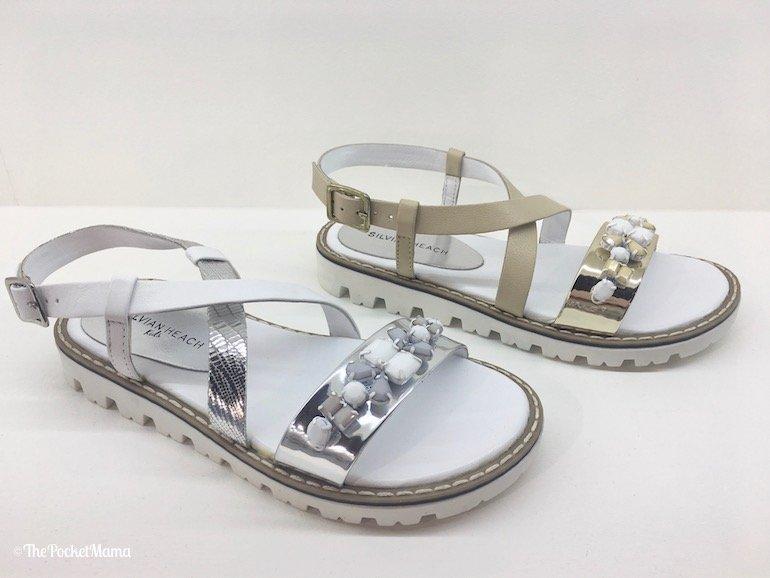 sandali cinturino icrociato Silvian Heach SS 2018