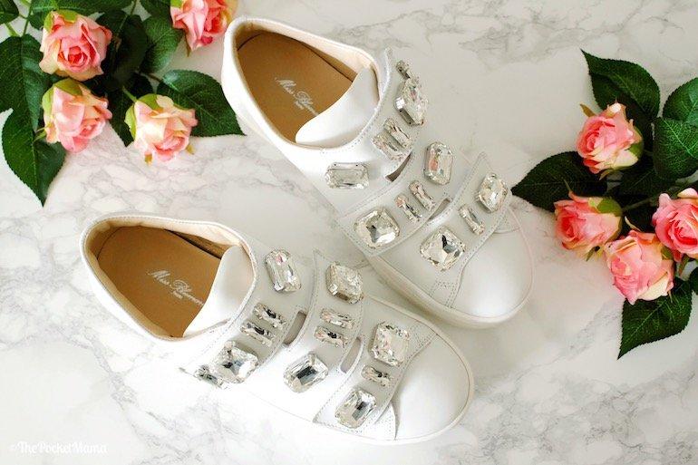 Sneakers con pietre Miss Blumarine