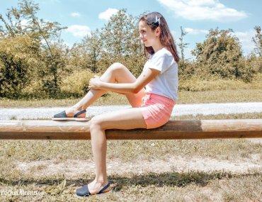 minorchine Mahonitas i sandali per l'estate