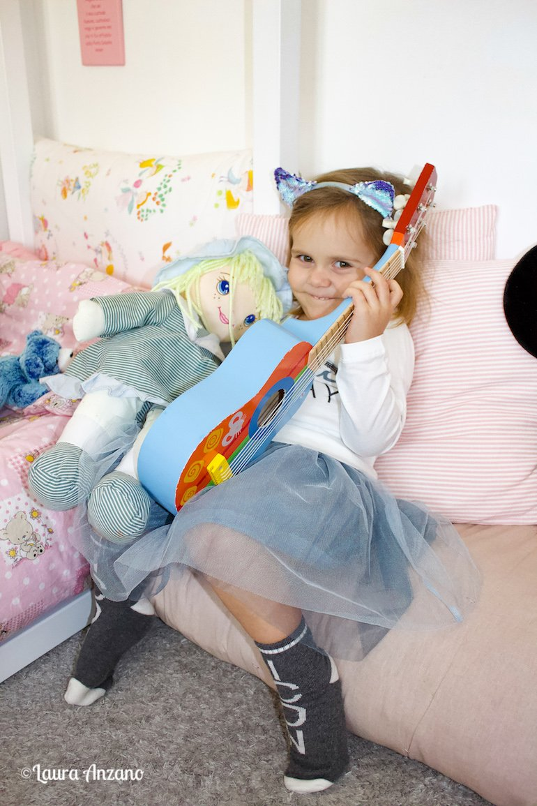 Diletta con la chitarra
