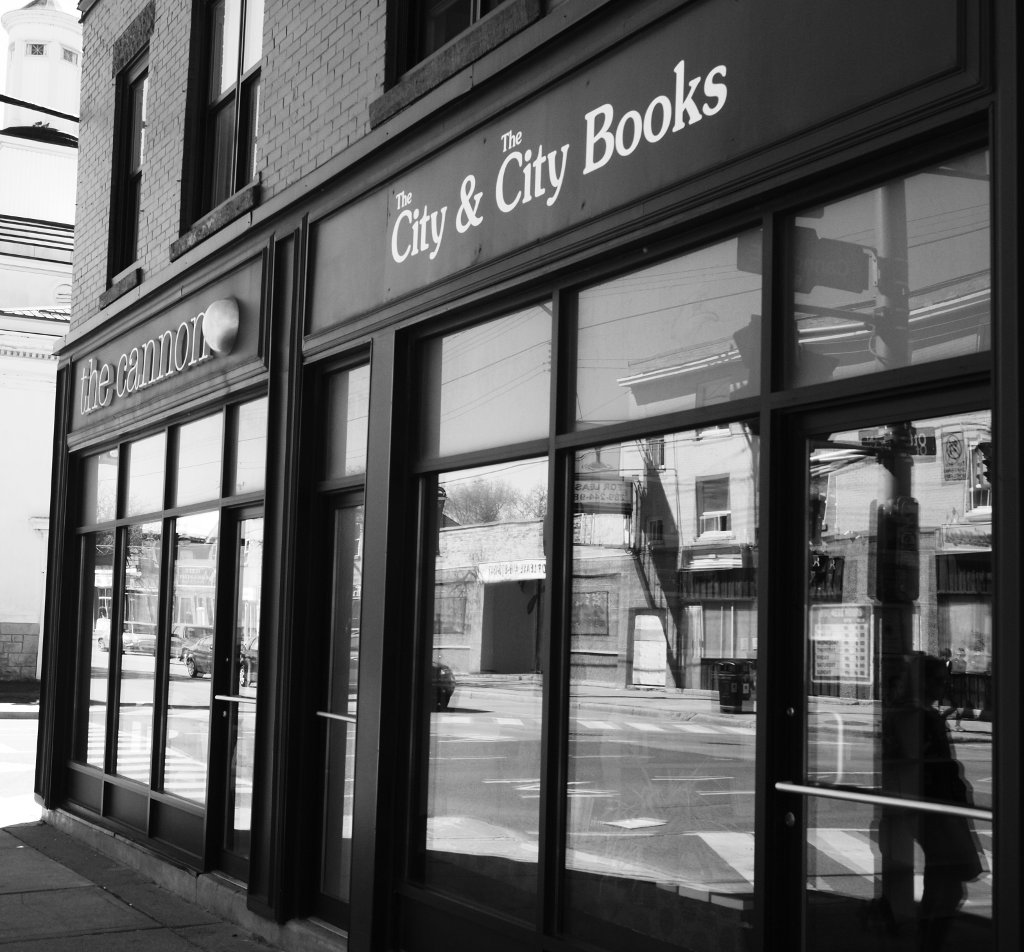 City & City Books at Cannon.