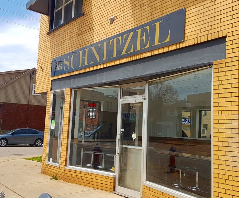 Das Schnitzel opened in May and is located at Ottawa and Roxborough.