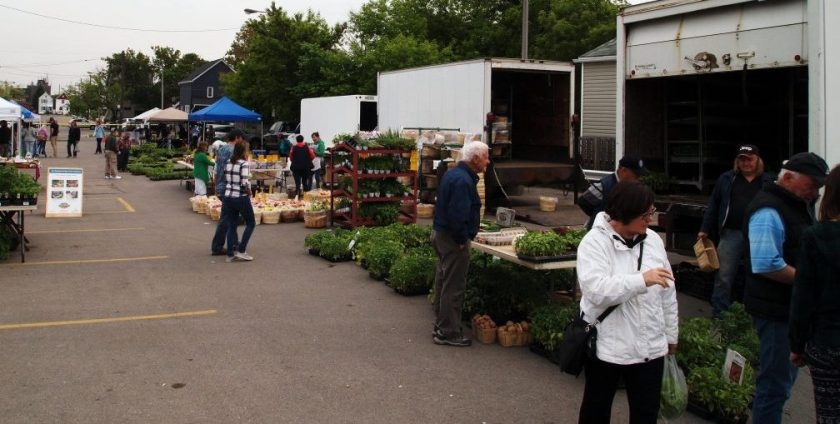 File photo of Farmers' Market