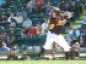 Reese McGuire's bat is what is holding him back at the moment.  Photo via 93.7 The Fan/Jeff Hathhorn