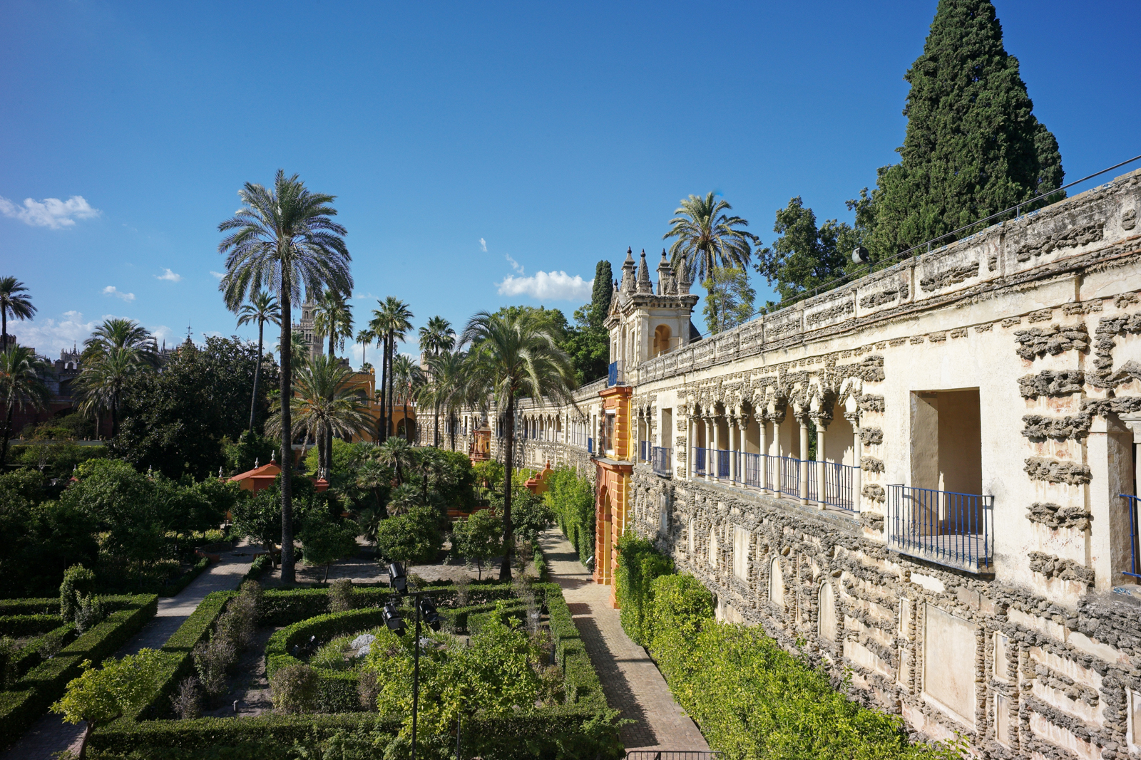 The Royal Palace Alcazar of Seville. (Photo by Andia/Universal Images Group/Getty Images)