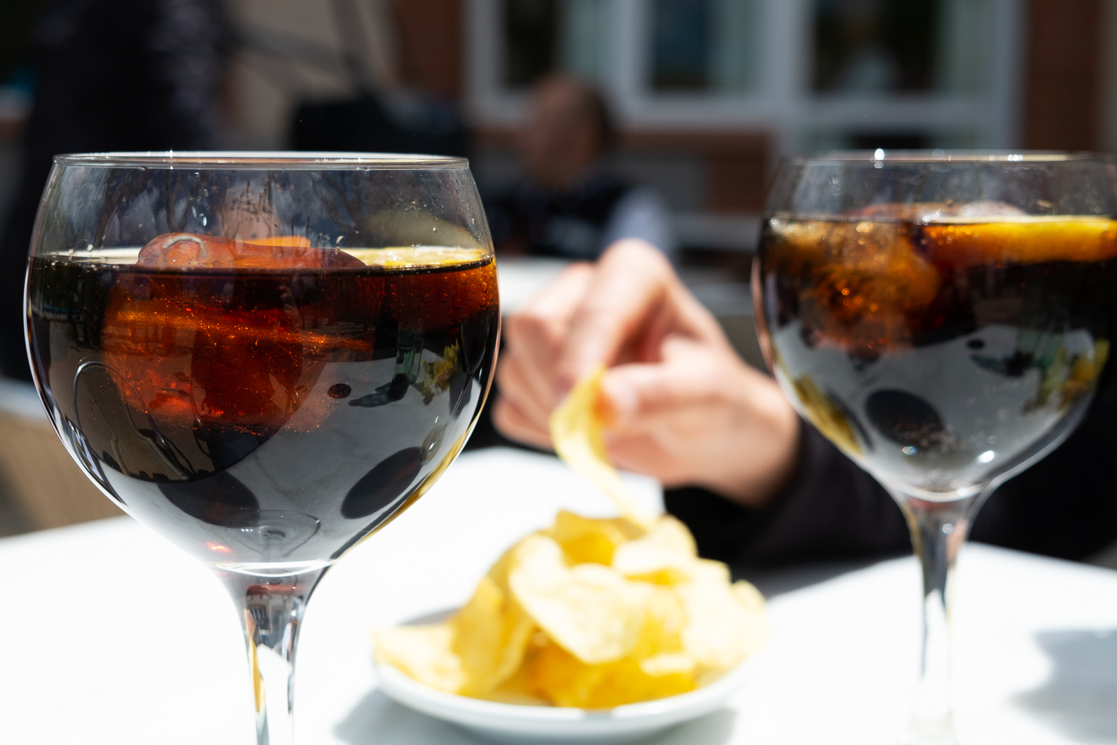 Vermouth and Chips. (Photo by nito100/Getty Images)