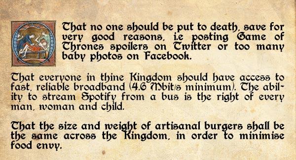 A Magna Carta For Modern Britain The Poke