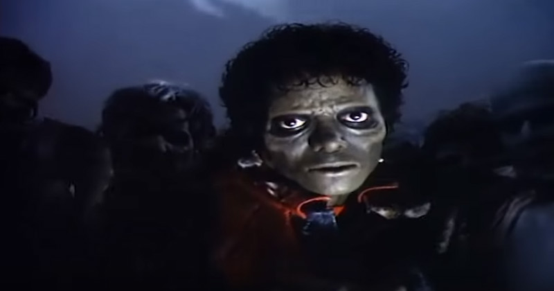 Michael Jacksons Thriller Video Without The Music And