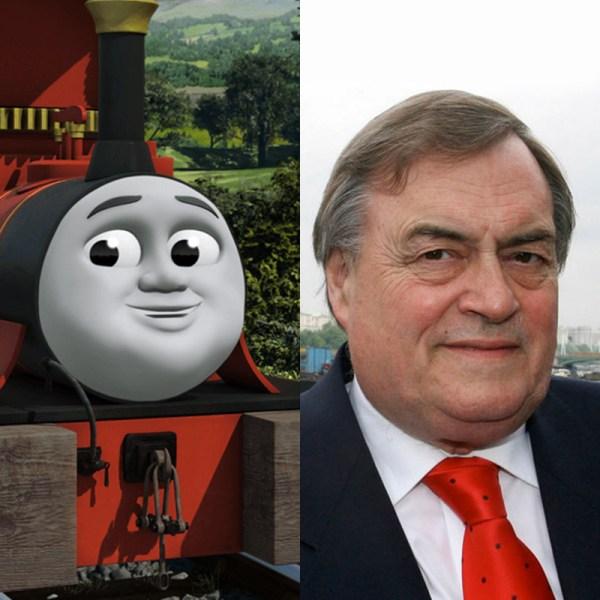 British Politicians Reimagined Thomas Tank
