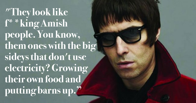 Simply 20 Greatest Liam Gallagher Quotes And Insults The Poke