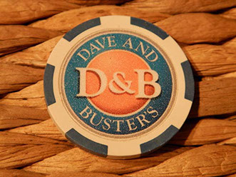 Customized Large Inlay Poker Chips
