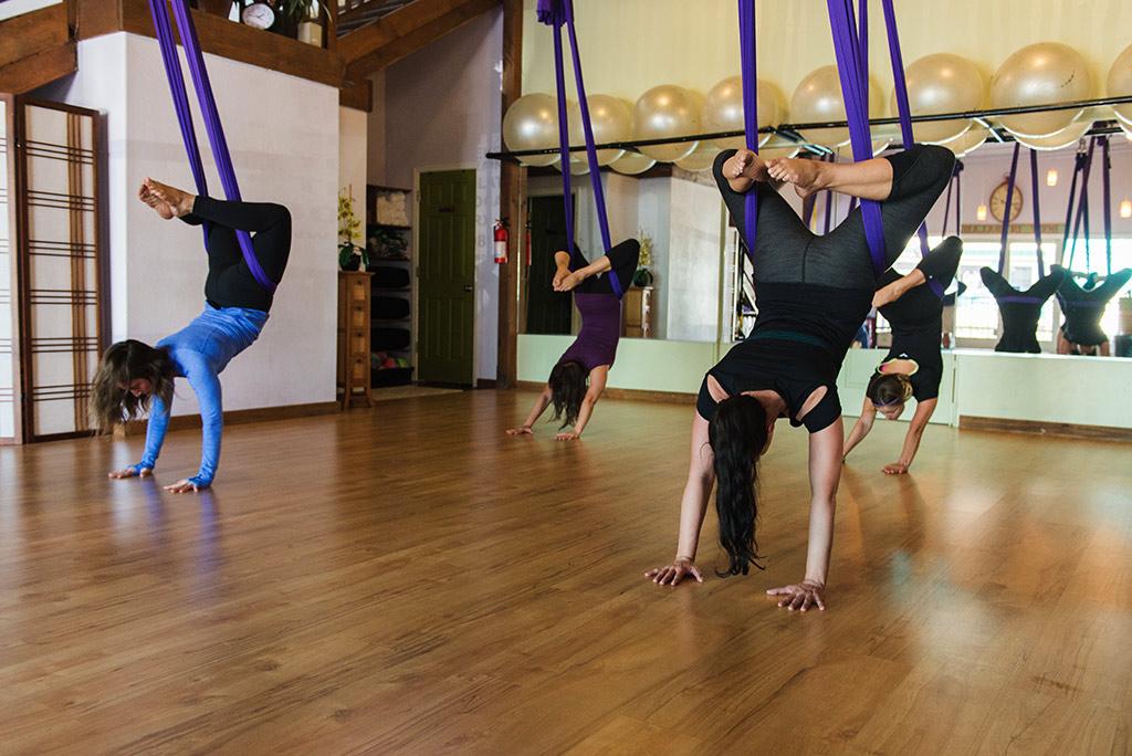 aerial yoga maui the