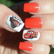 lightning mcqueen. - polished