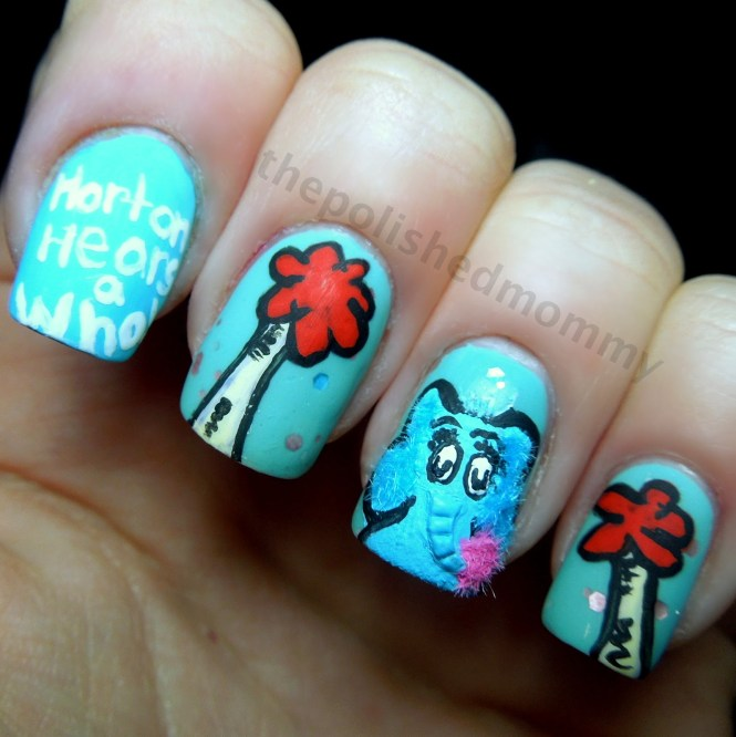 Chinese New Year Nail Art Design Images Designs
