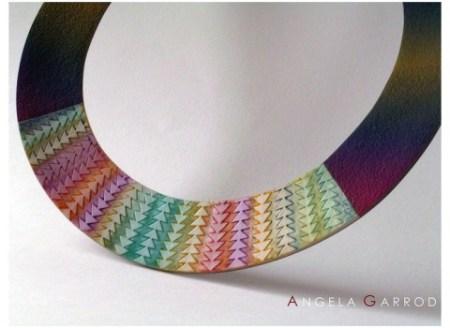 aGarrod Rainbow neckring